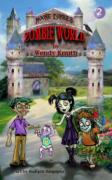 Moore Zombies: Zombie World Book Cover